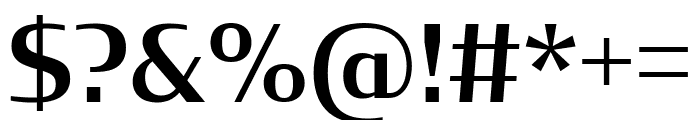 CondorExtd Medium Font OTHER CHARS