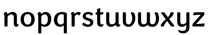 Congenial Bold Font LOWERCASE