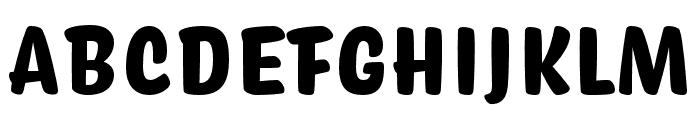 Coniferous Black Font UPPERCASE