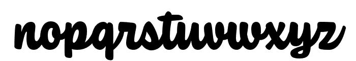 Coniferous Black Font LOWERCASE