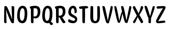 Coniferous Medium Font UPPERCASE