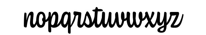 Coniferous Medium Font LOWERCASE