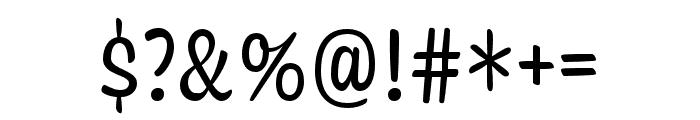 Coniferous Regular Font OTHER CHARS