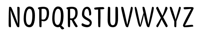 Coniferous Regular Font UPPERCASE