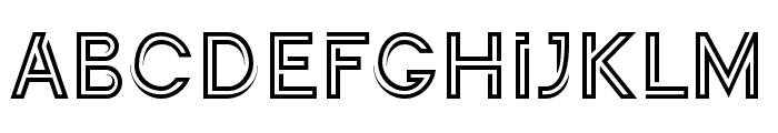 Continuo Regular Font LOWERCASE