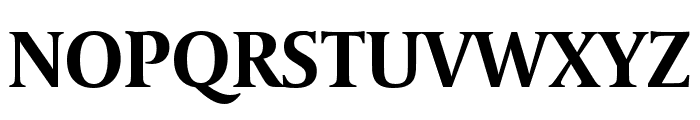 Coranto 2 Headline Bold Font UPPERCASE