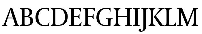 Coranto 2 Regular Font UPPERCASE