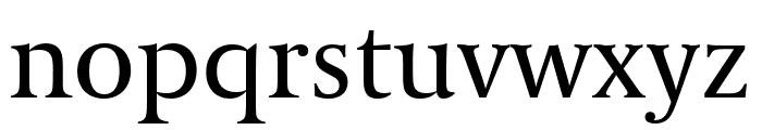 Coranto 2 Regular Font LOWERCASE