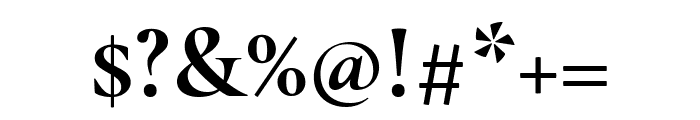 Cormorant Garamond Bold Font OTHER CHARS