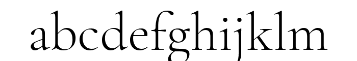 Cormorant Garamond Light Font LOWERCASE