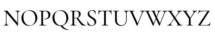 Cormorant Garamond Medium Font UPPERCASE