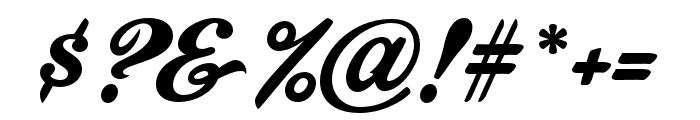 CornerStoreJF Regular Font OTHER CHARS