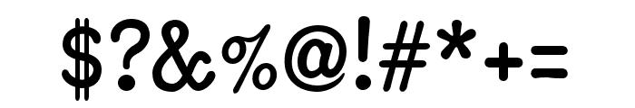 Coronette Regular Font OTHER CHARS