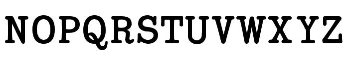 Coronette Regular Font UPPERCASE