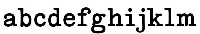 Coronette Regular Font LOWERCASE