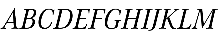 Corporate A Cond Pro Regular Italic Font UPPERCASE