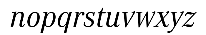 Corporate A Cond Pro Regular Italic Font LOWERCASE
