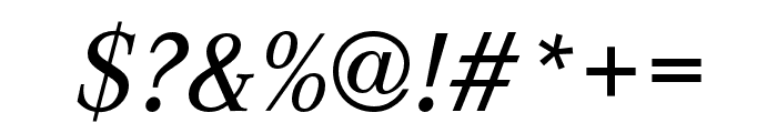 Corporate A Medium Italic Font OTHER CHARS