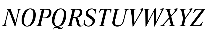 Corporate A Medium Italic Font UPPERCASE