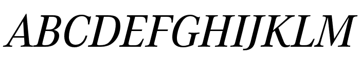 Corporate A Pro Medium Italic Font UPPERCASE