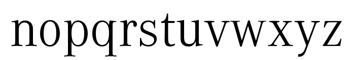 Corporate A SC Light Font LOWERCASE