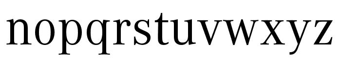 Corporate A SC Regular Font LOWERCASE