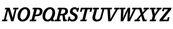 Corporate E Bold Italic Font UPPERCASE