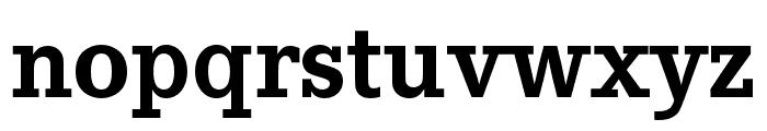 Corporate E Bold Font LOWERCASE