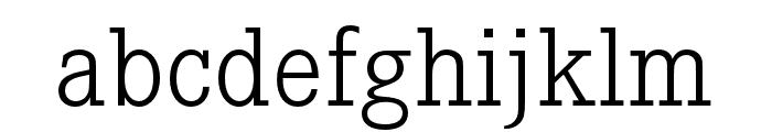 Corporate E Light Font LOWERCASE