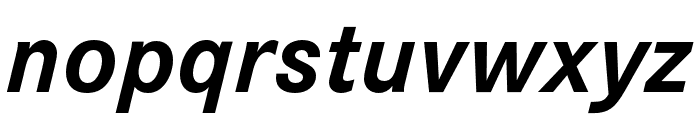 Corporate S Bold Italic Font LOWERCASE