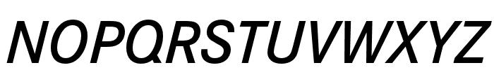 Corporate S Demi Italic Font UPPERCASE