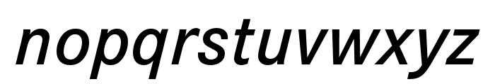 Corporate S Demi Italic Font LOWERCASE