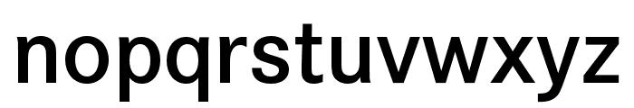 Corporate S Demi Font LOWERCASE