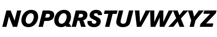 Corporate S ExtraBold Italic Font UPPERCASE