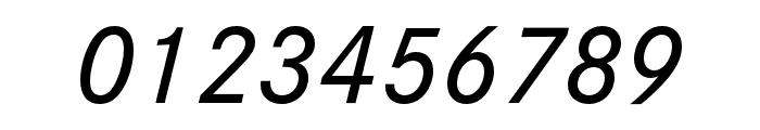 Corporate S Medium Italic Font OTHER CHARS