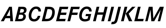 Corporate S Pro Bold Italic Font UPPERCASE