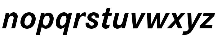 Corporate S Pro Bold Italic Font LOWERCASE