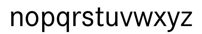 Corporate S Regular Font LOWERCASE
