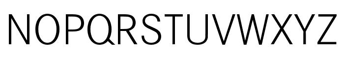 Corporate S SC Light Font UPPERCASE