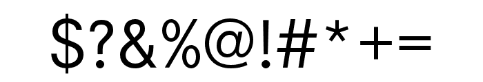 Corporate S SC Regular Font OTHER CHARS