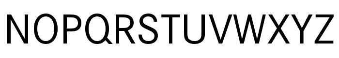 Corporate S SC Regular Font UPPERCASE