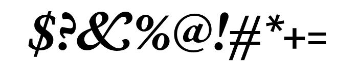 Corundum Text SemiBold SC Italic Font OTHER CHARS