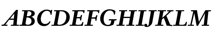 Corundum Text SemiBold SC Italic Font UPPERCASE