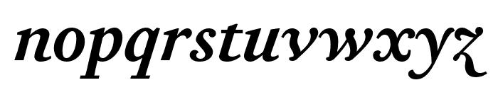 Corundum Text SemiBold SC Italic Font LOWERCASE