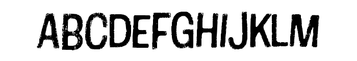 Cotton Regular Font UPPERCASE