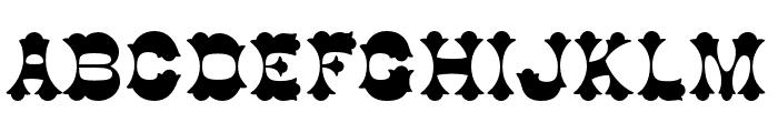 Cottonwood Std Medium Font UPPERCASE