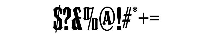 Council OT WordLogosOne Font OTHER CHARS