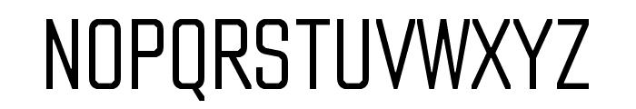 Countach Light Font UPPERCASE