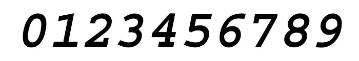 Courier Std Bold Oblique Font OTHER CHARS