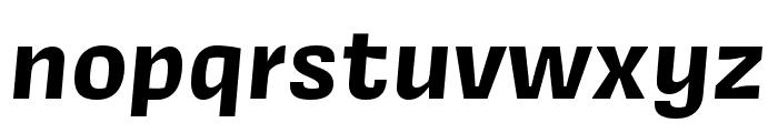 Covik Sans Bold Italic Font LOWERCASE